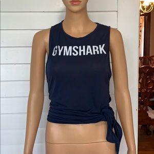 Gymshark side tie tank